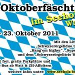 Flyer Oktoberfäscht Seeholz